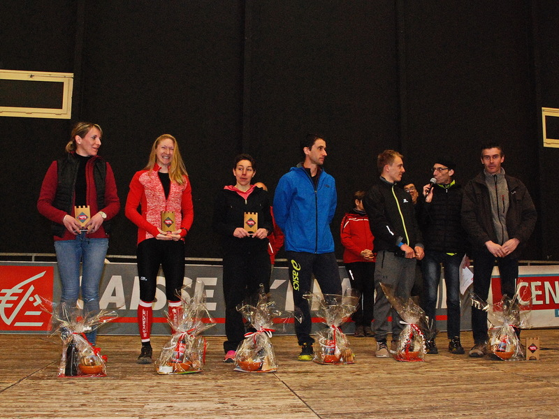 LE PODIUM DU TRAIL 27 KM