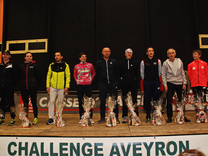 PODIUM PAR CATEGORIE DU TRAIL 27 KM