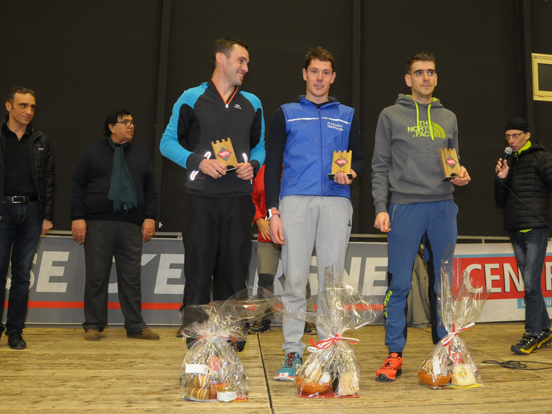 LE PODIUM DU TRAIL 12,5 km MASCULIN